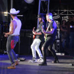 Chris Lane and his band rock the house for the 12th annual Jake Owen concert to warm up the crowd before Joe Diffie and Jake take the stage. CHRISTINA TASCON PHOTO