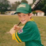 Jake playing for Charley Brown's team in the Indian River County Little League when he was 7.