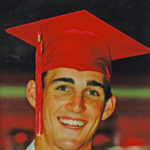 Jake at his graduation in 2000 from Vero Beach High School before heading to Florida State University.