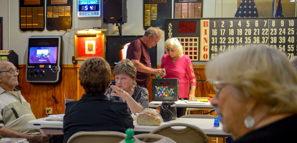 activities scheduled nightly at American Legion Post 40