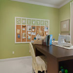 sewing and crafts room