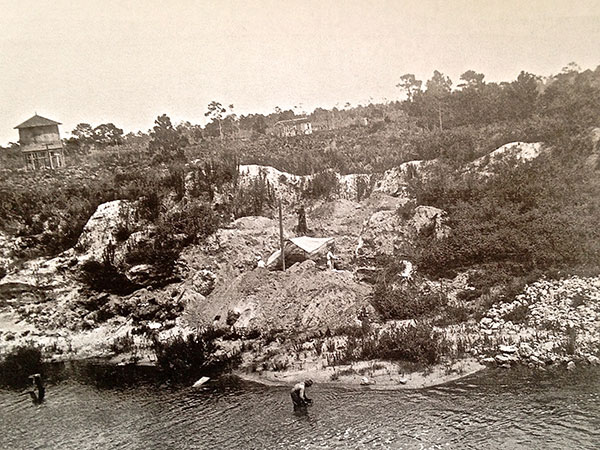 1916 Old Vero Site excavation