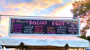 Treasure Coast Bacon Festival at Riverside Park in Vero