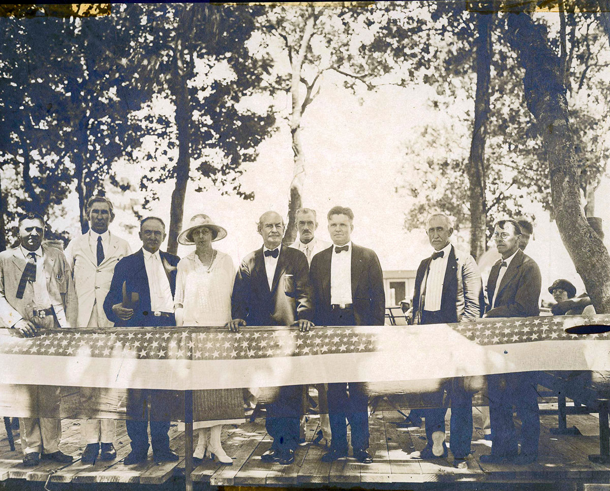 Celebration of the new county on June 29, 1925