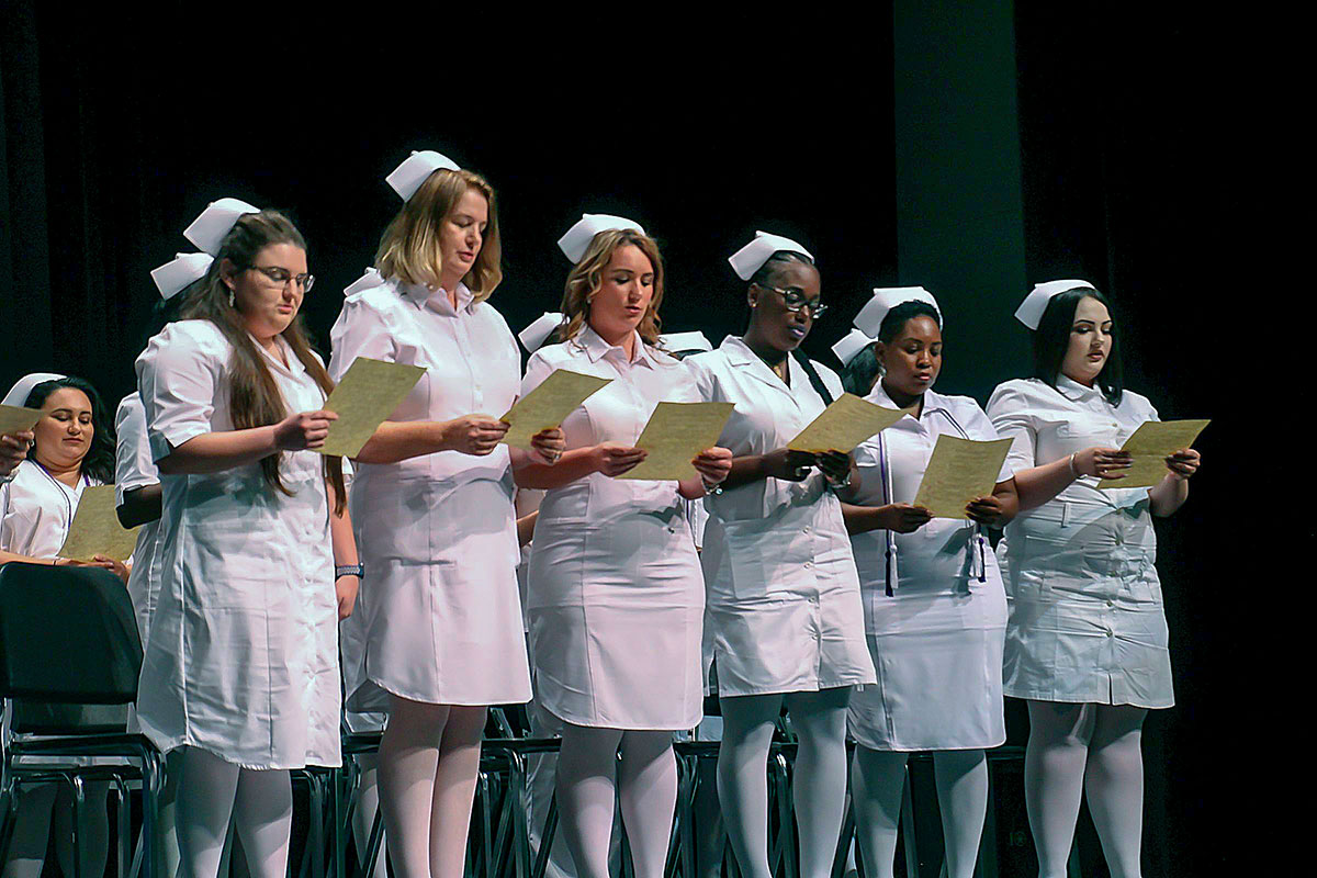 Practical nursing graduates