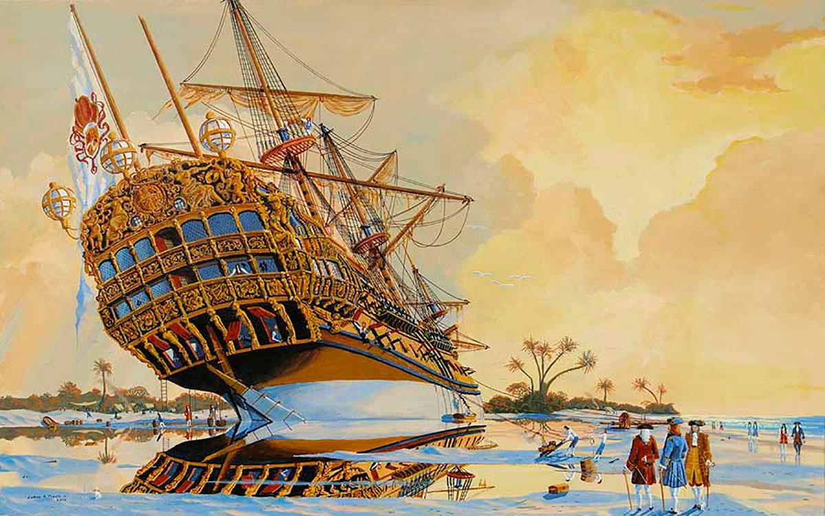 Nuestra Señora del Carmen y San Antonio, originally HMS Hampton Court