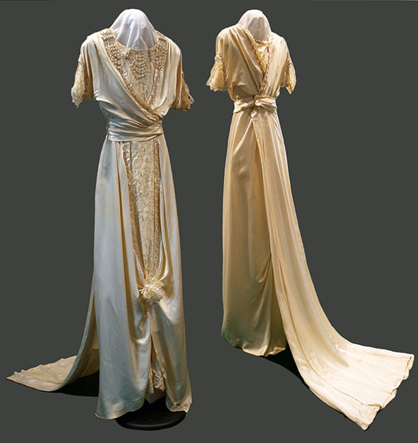 Josephine Kitching's gown