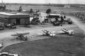 Naval Air station at Vero Beach 1944