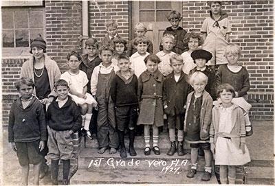 Members of a first-grade class