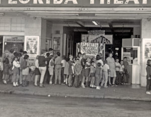 Families often lined up to see special children's shows at Florida Theatre