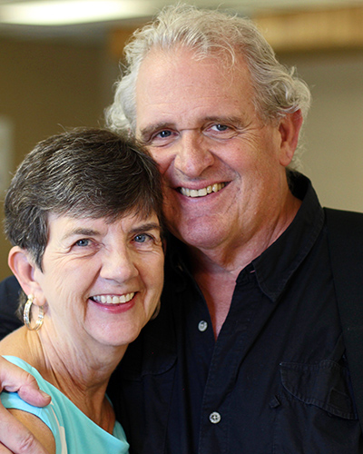 Jeanette and Skip Hartzell