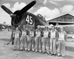 Navy F6F fighter pilots