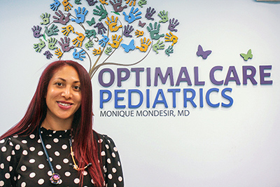 Dr. Monique Mondesir of Optimal Care Pediatrics