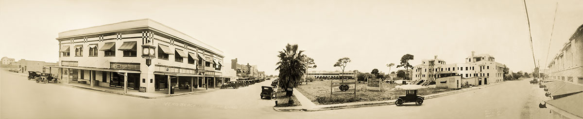 downtown Vero Beach in 1925