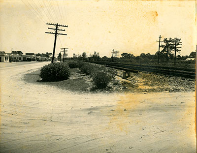 Rail transportation arrived in Vero in 1893