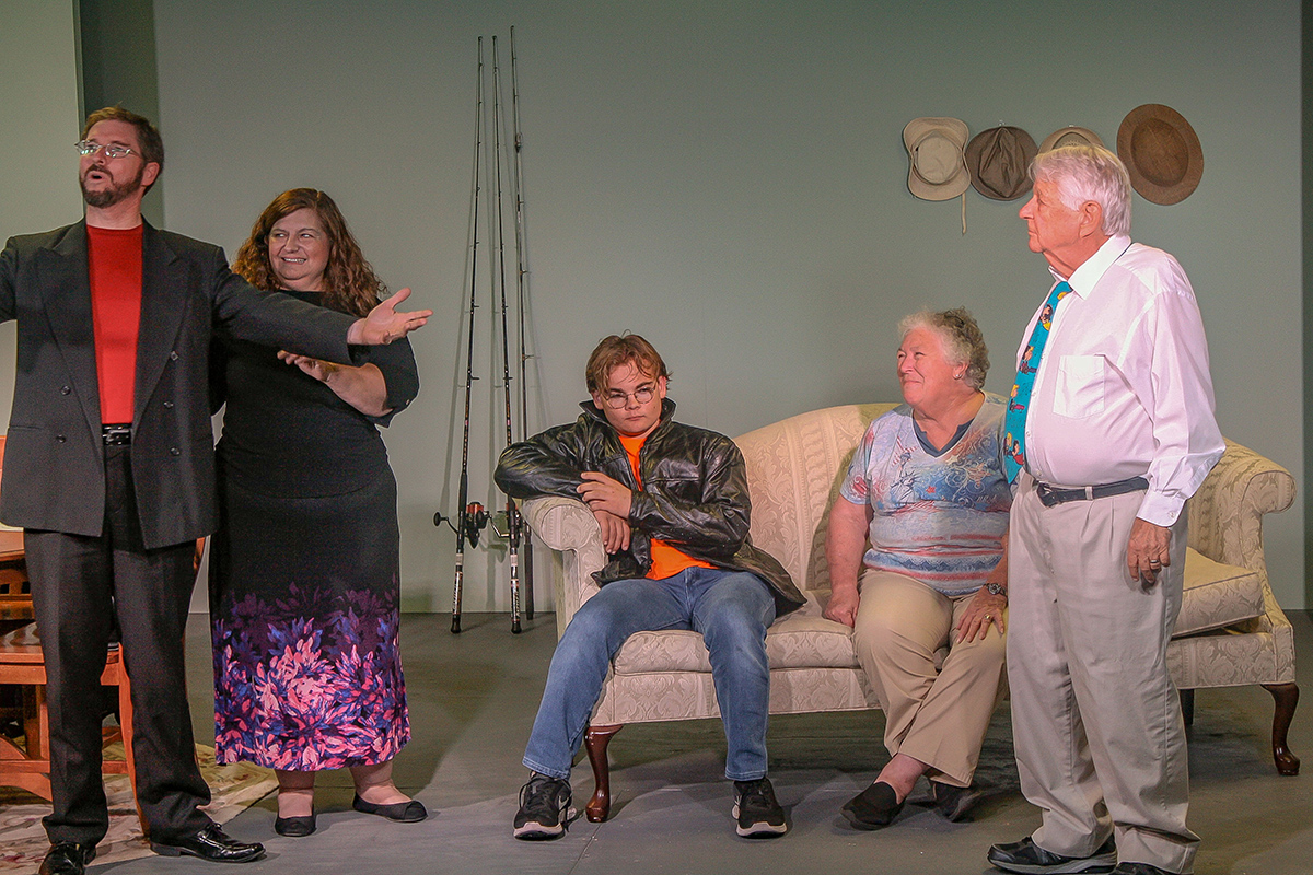Treasure Coast Theatre's first production, On Golden Pond,