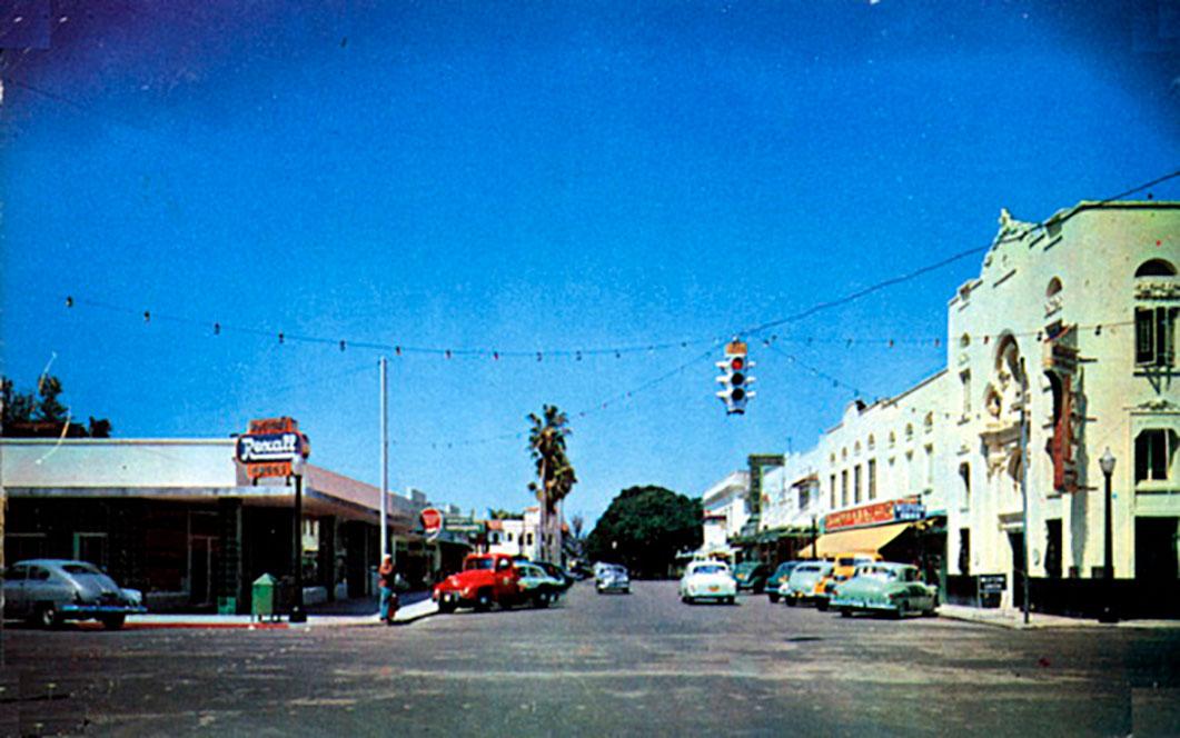 Downtown Vero Beach in 1951