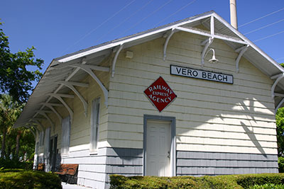 Vero's railroad station