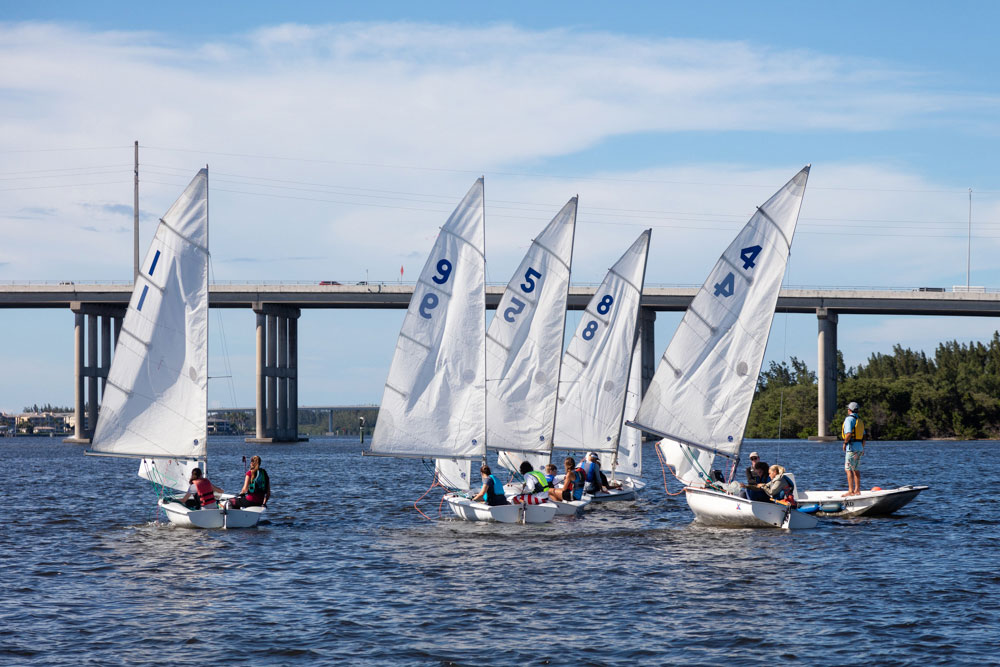 The Youth Sailing Foundation will host two regattas