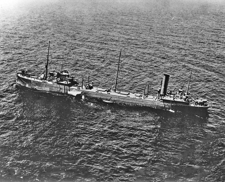 damaged tanker Java Arrow
