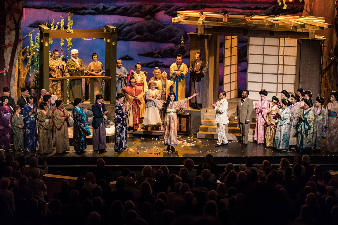 Vero Beach Opera presented a fully staged Madama Butterfly