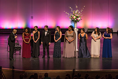 Finalists in the 2018 Deborah Voigt International Vocal Competition