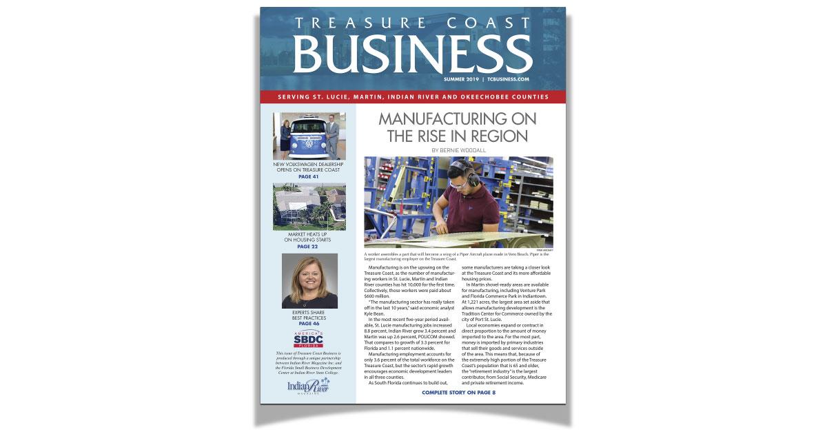 Treasure Coast Business magazine