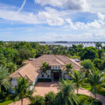 The home's proximity to the Indian River