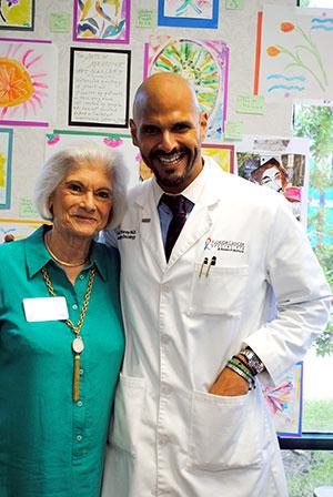 Program founders Barbara Hoffman and Dr. Raul E. Storey