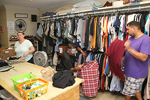 Love and Hope in Action has a clothing pantry