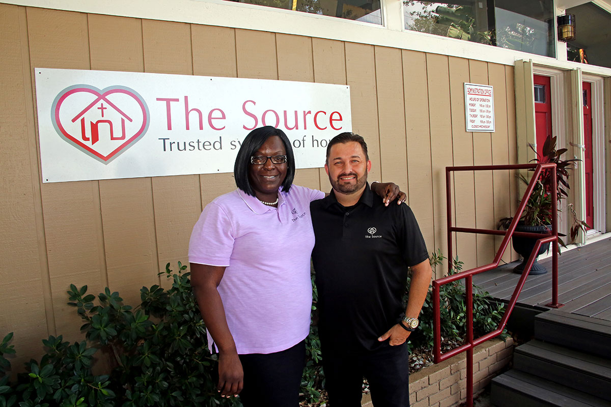 The Source Assistant Director Maureen Archer and Executive Director Anthony Zorbaugh