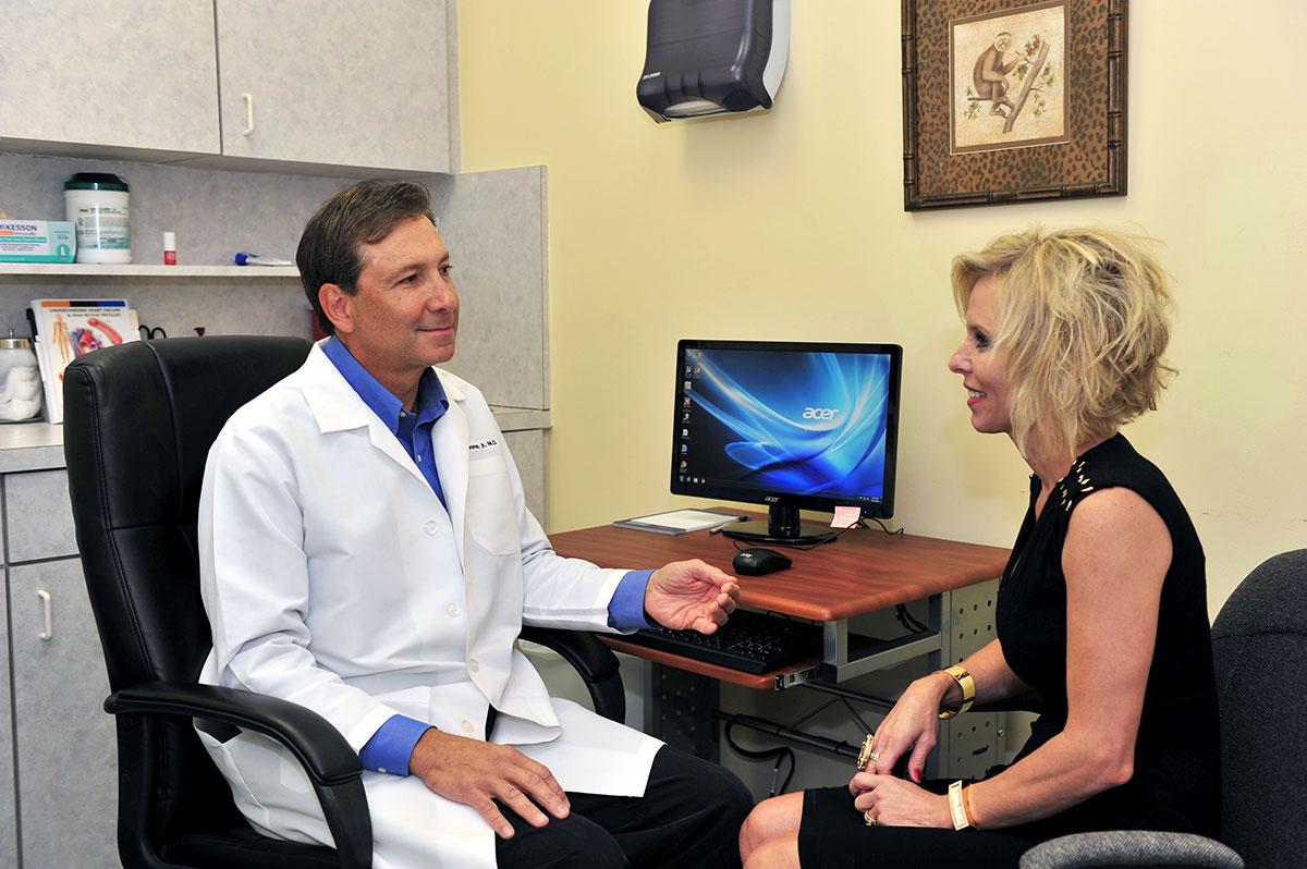 Infectious disease specialist Dr. Gerald Pierone
