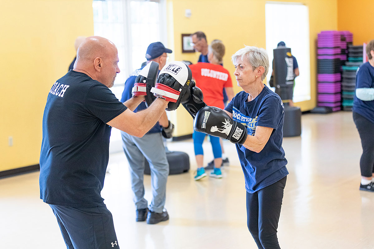 Rock Steady Boxing Program