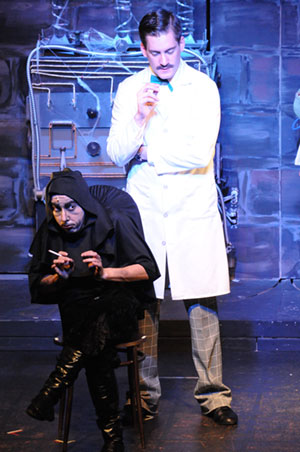 Young Frankenstein was a hit at the Barn Theatre in Stuart