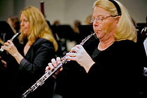 Orchestra musicians remain focused on their music