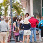 Larry Lawson leads a ghost tour at the 2018 Treasure Coast History Festival