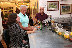 Locals enjoy the happy hour specials at the piano bar