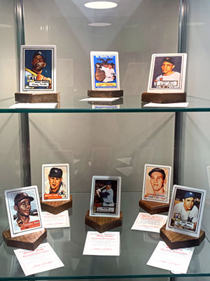 The Elliott Museum's extensive baseball memorabilia collection