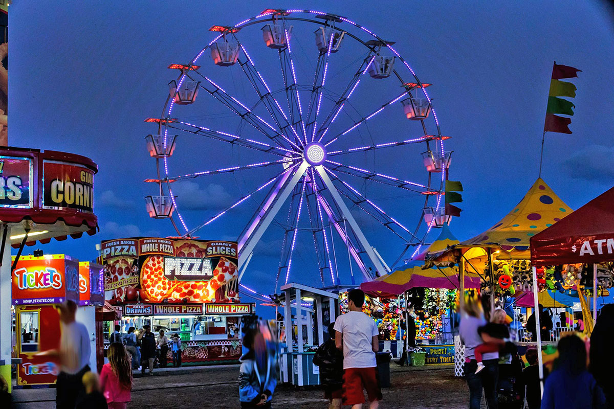 The St. Lucie County Fair is filled with rides, games and food.