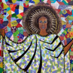 The Patchwork Goddess of Diversity, was created by Danielle Henn