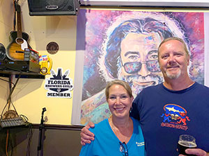 owners of Pareidolia Brewing, Lynn Anderson and Pete Anderson