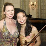 Pianist Lindsay Garritson  and violinist Sirena Huang