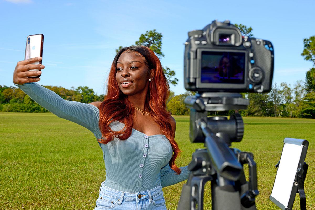 Social media influencer Jessica Harvey
