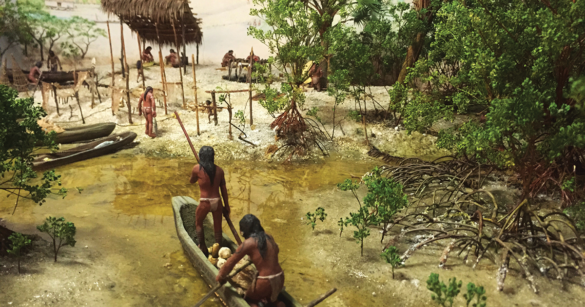 Ais, 15,000-year natives, topic of Saturday's History Festival