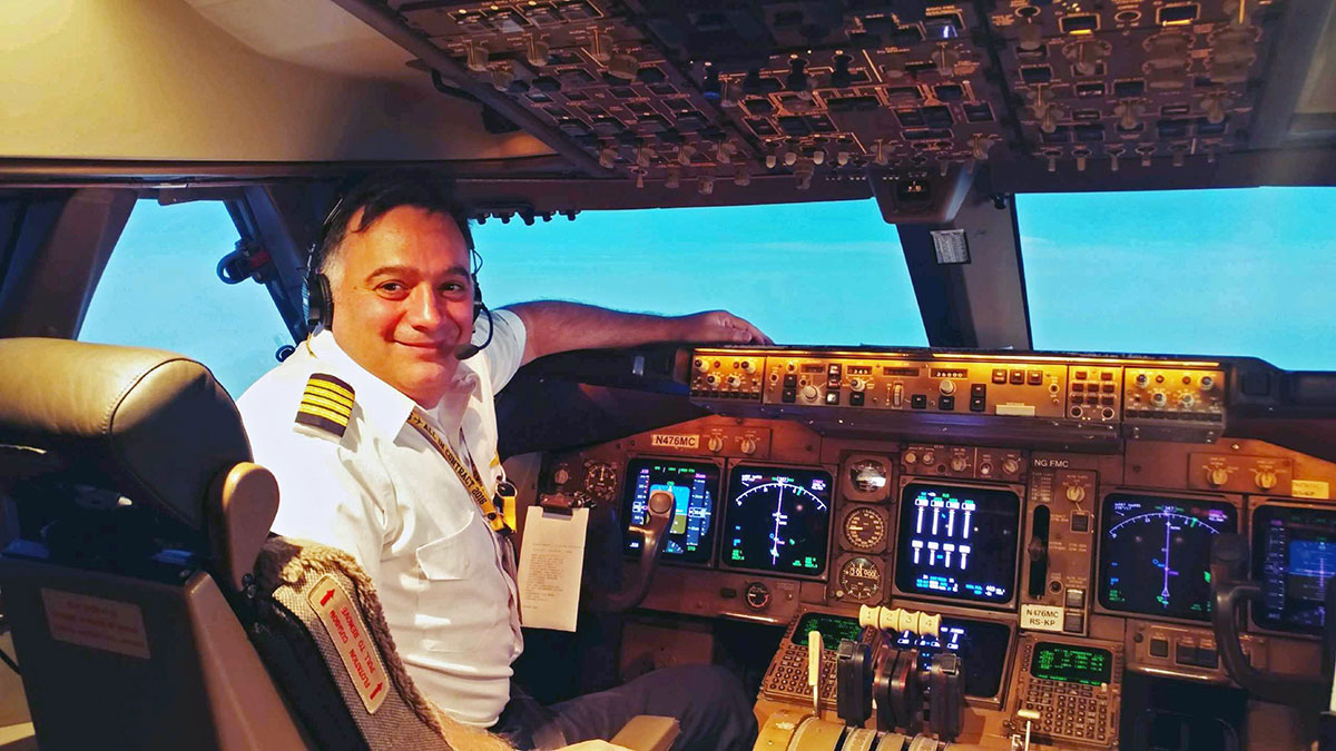 Atlas Air Captain Manuel Cabianca
