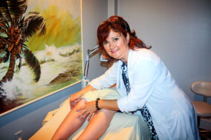certified respiratory therapist, Rachelle Tetreault