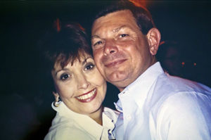 Ed Massey met his wife, Jo, at a community dance