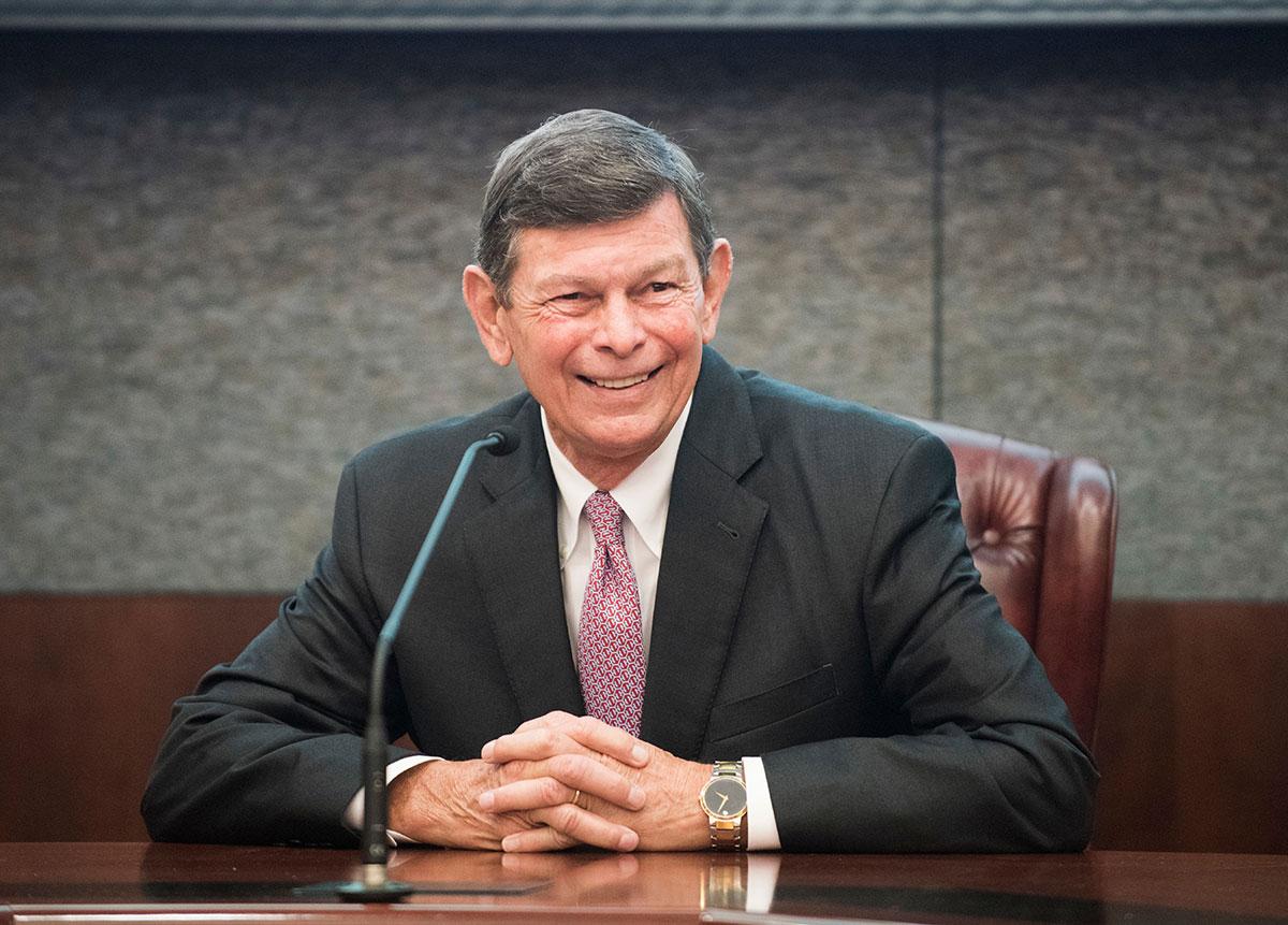 IRSC President Dr. Edwin Massey