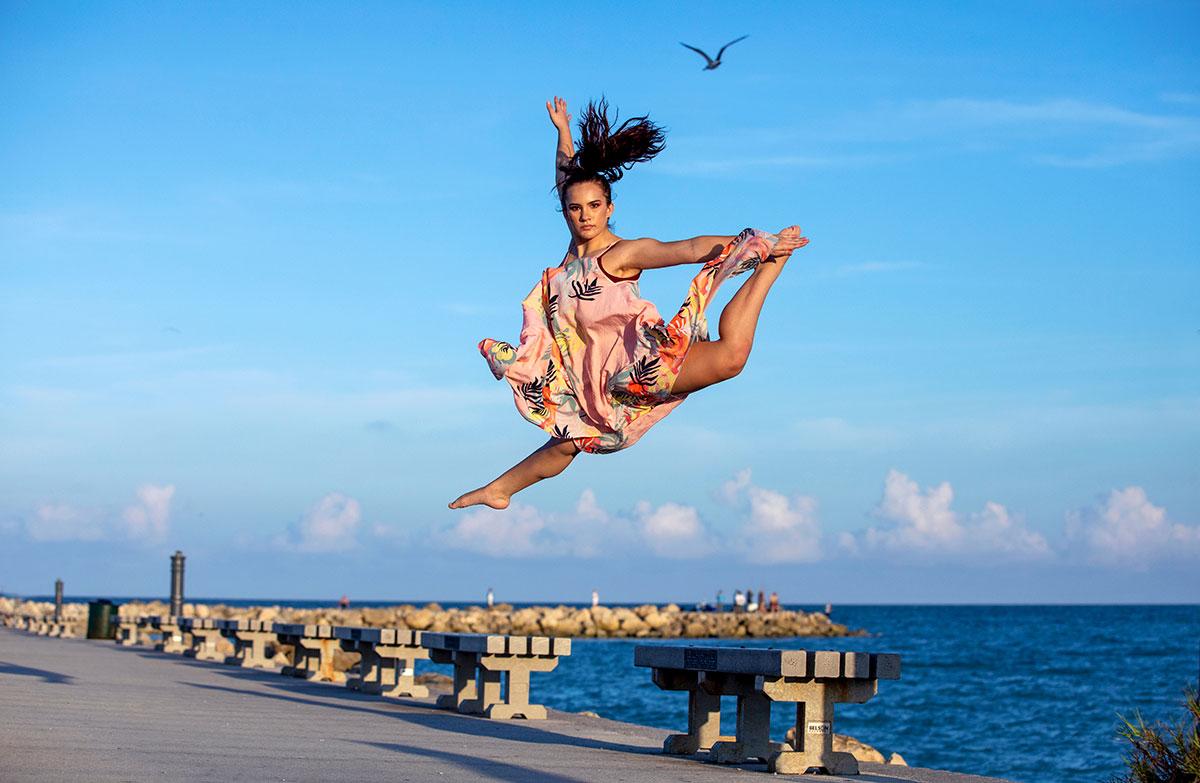 IRSC dance student Angelita Leal