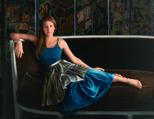 Artist Kathleen Carbonara's portrait